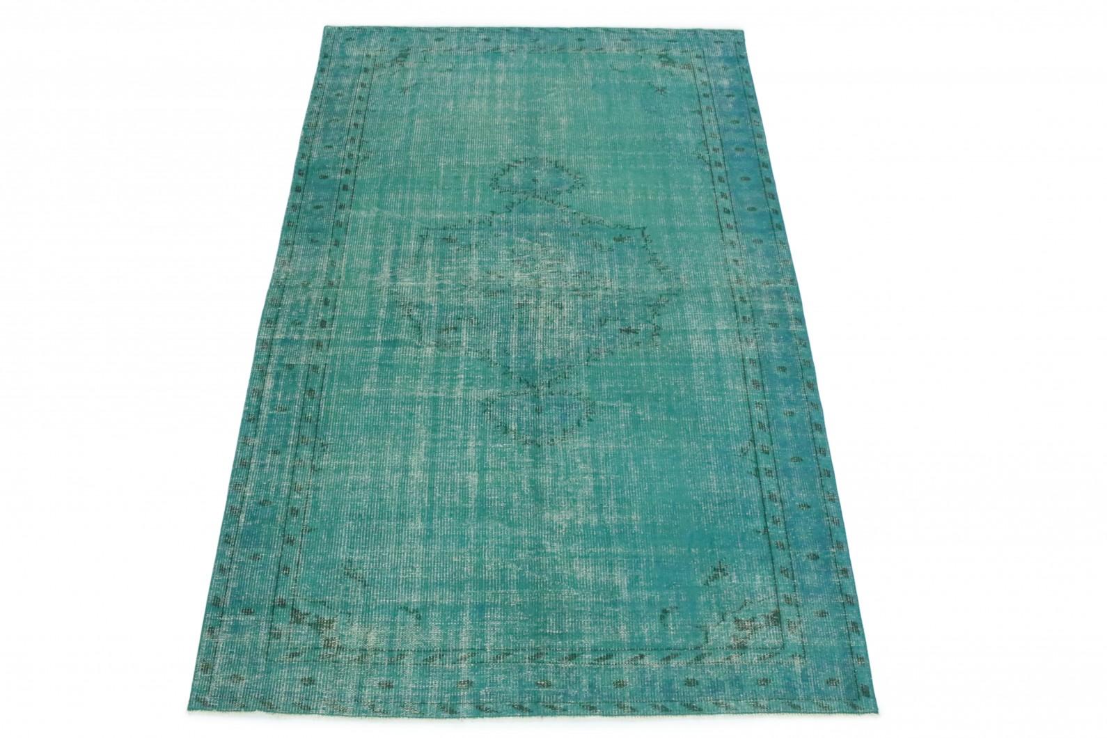 Vintage Teppich Türkis in 270x170 (1 / 5)