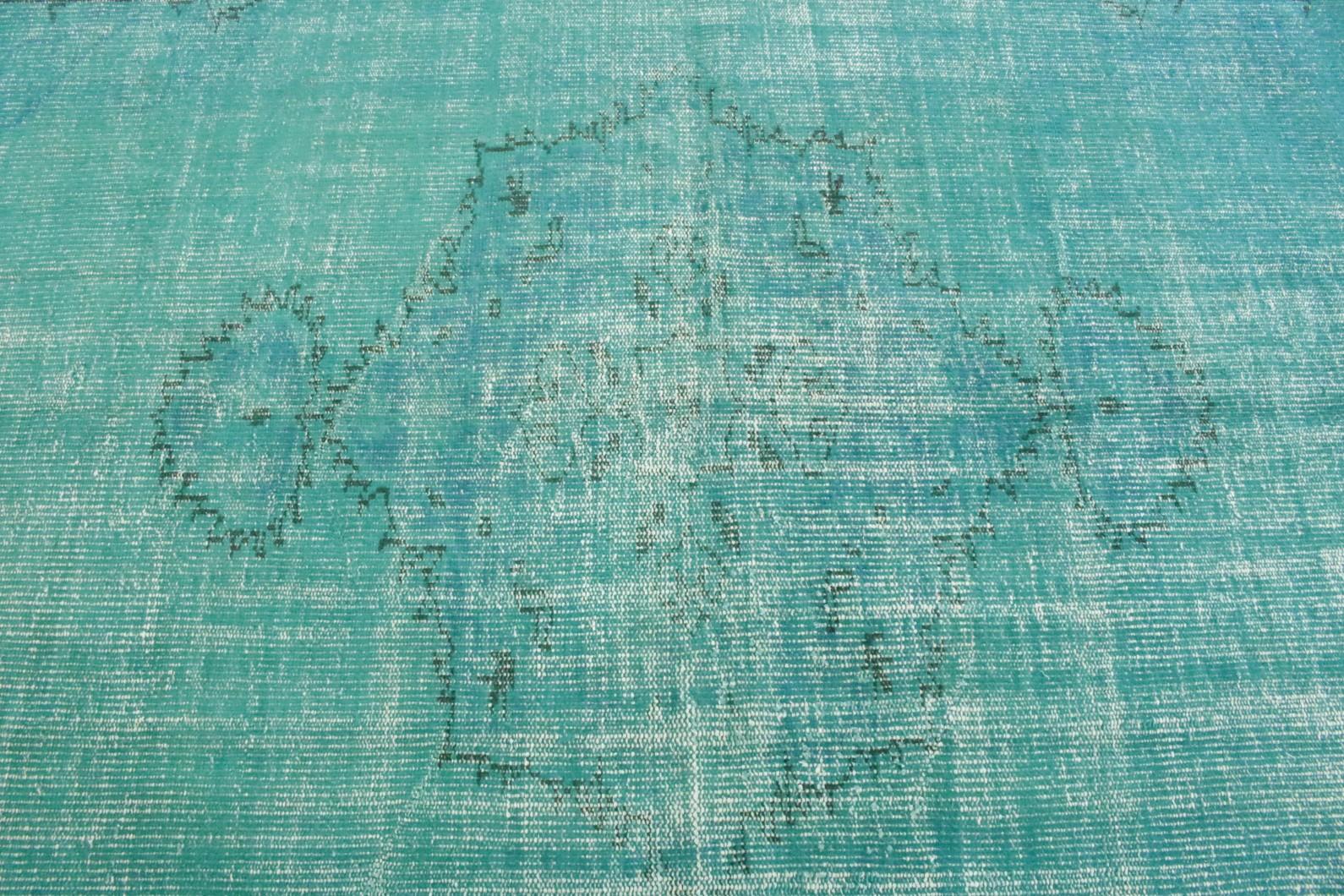 vintage teppich t rkis in 270x170 1012 1138 bei kaufen. Black Bedroom Furniture Sets. Home Design Ideas