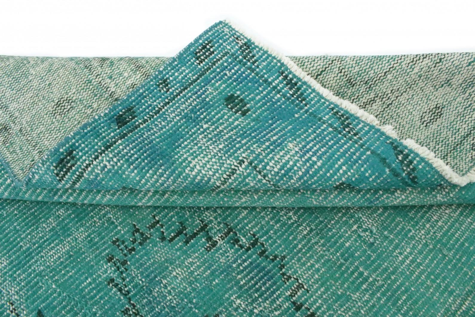 vintage teppich t rkis in 270x170 1012 1138. Black Bedroom Furniture Sets. Home Design Ideas