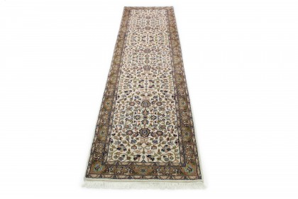Klassischer Vintage-Teppich Kashmar Läufer in 300x80
