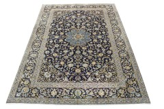 Klassischer Vintage-Teppich Kashan in 360x250