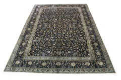 Klassischer Vintage-Teppich Kashan in 380x270
