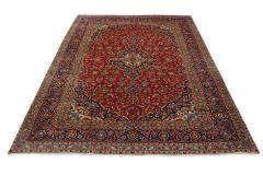 Klassischer Teppich Kashan in 390x300