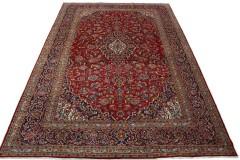Klassischer Vintage-Teppich Kashan in 450x300