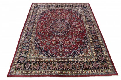 Traditional Vintage Rug Mashad in 310x240