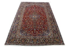 Klassischer Vintage-Teppich Kashan in 360x230