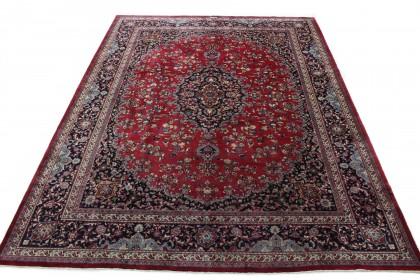 Traditional Vintage Rug Mashad in 400x310