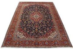 Klassischer Vintage-Teppich Kashan in 390x290