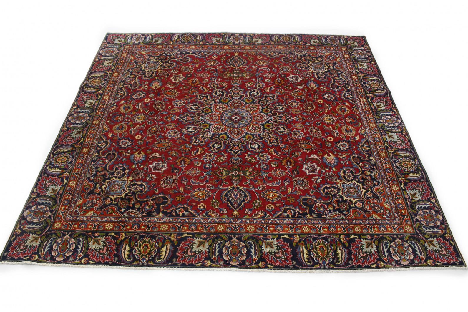 Klassischer Vintage-Teppich Mashad in 260x270 (1 / 8)