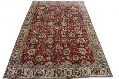 Klassischer Vintage-Teppich Tabriz in 390x260