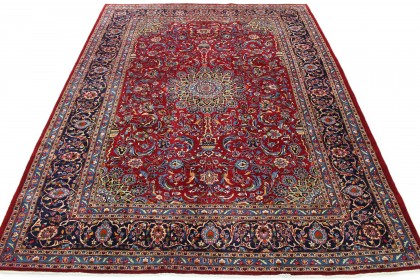 Traditional Vintage Rug Mashad in 390x300