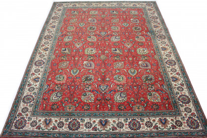 Klassischer Vintage-Teppich Tabriz in 390x300