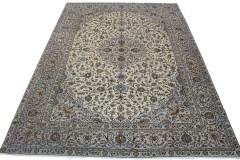 Klassischer Vintage-Teppich Kashan in 400x290