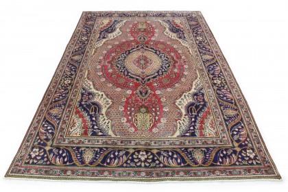 Klassischer Vintage-Teppich Tabriz in 300x210