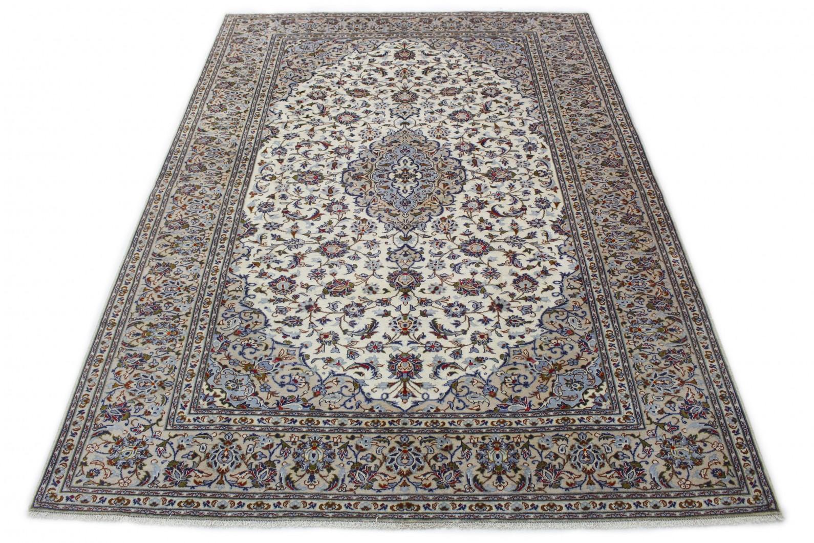 Klassischer Vintage-Teppich Kashan in 350x250 (1 / 6)