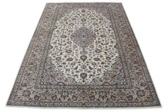 Klassischer Vintage-Teppich Kashan in 350x250