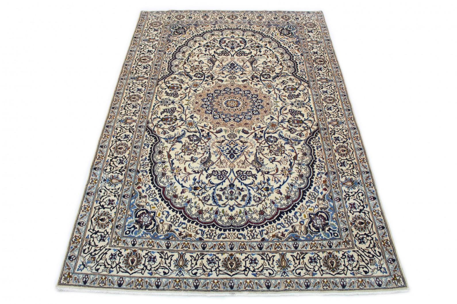 Klassischer Vintage-Teppich Nain in 310x200 (1 / 8)