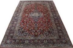 Klassischer Vintage-Teppich Kashan in 410x280