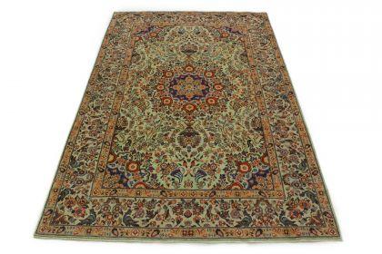 Klassischer Teppich Kashan in 300x200
