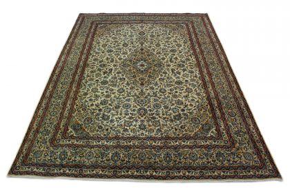 Klassischer Teppich Kashan in 400x300