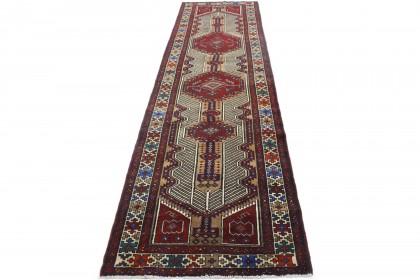 Traditional Vintage Rug Azerbajan in 430x110