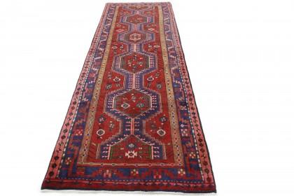 Klassischer Vintage-Teppich Azerbajan Läufer in 380x130