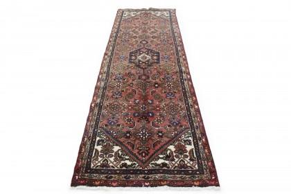 Klassischer Vintage-Teppich Hamadan Läufer in 300x100