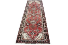 Klassischer Vintage-Teppich Hamadan Läufer in 290x100
