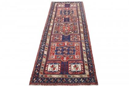 Klassischer Vintage-Teppich Hamadan Läufer in 280x100