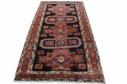 Traditional Vintage Rug Azerbajan in 290x150