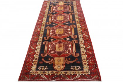 Traditional Vintage Rug Azerbajan in 320x140