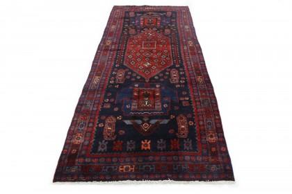 Traditional Vintage Rug Azerbajan Runner in 320x130