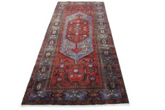 Traditional Vintage Rug Azerbajan Runner in 310x110