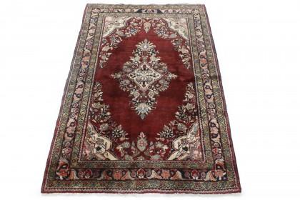 Traditional Vintage Rug Azerbajan in 200x130