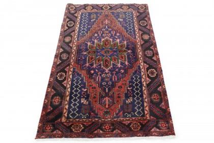 Traditional Vintage Rug Azerbajan in 200x120
