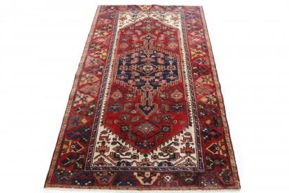 Traditional Vintage Rug Azerbajan in 220x130