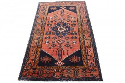Traditional Vintage Rug Azerbajan in 210x130
