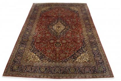 Klassischer Vintage-Teppich Kashan in 350x240