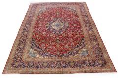 Klassischer Vintage-Teppich Kashan in 400x300