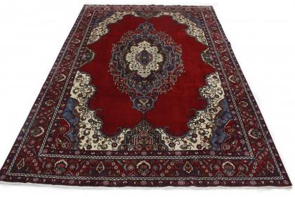 Klassischer Vintage-Teppich Tabriz in 400x280