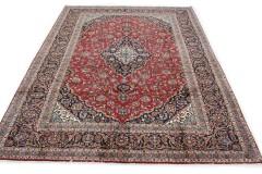 Klassischer Vintage-Teppich Kashan in 400x310