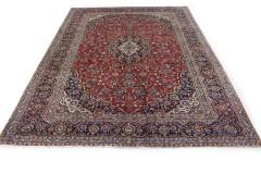 Klassischer Vintage-Teppich Kashan in 410x300