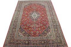 Klassischer Vintage-Teppich Kashan in 390x270