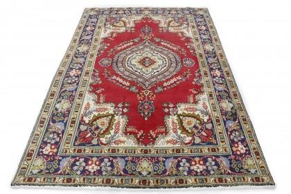 Klassischer Vintage-Teppich Tabriz in 300x200