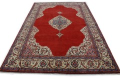 Klassischer Vintage-Teppich Sarough in 320x220