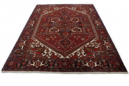 Traditional Vintage Rug Azerbajan in 290x210