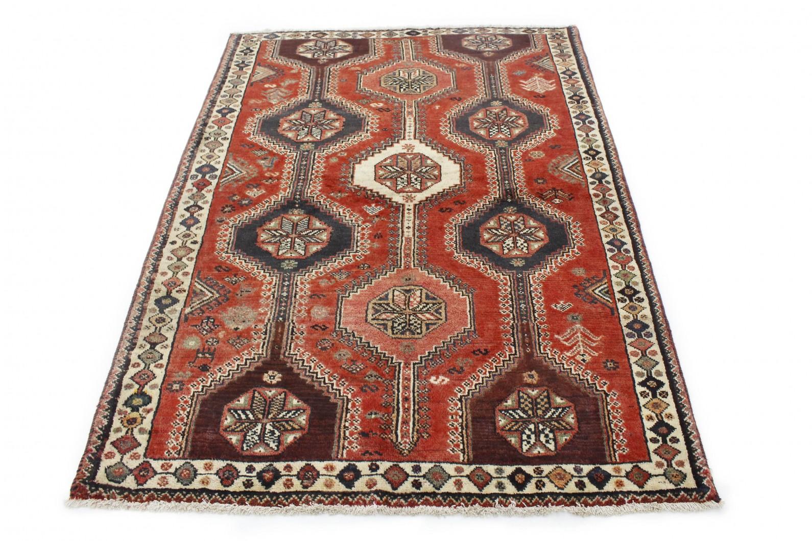 Klassischer Vintage-Teppich Shiraz in 210x150 (1 / 4)