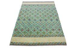 Nomadic Design Teppich Türkis Beige in 240x170