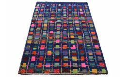 Nomadic Design Teppich Blau in 250x170