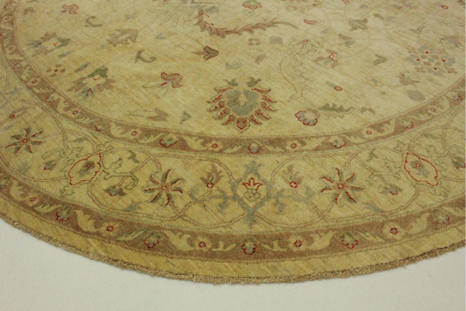 ziegler teppich rund beige in 260x260cm 5001 639 bei kaufen. Black Bedroom Furniture Sets. Home Design Ideas